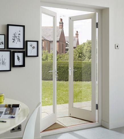Hemlock 310 E20 glazed doors