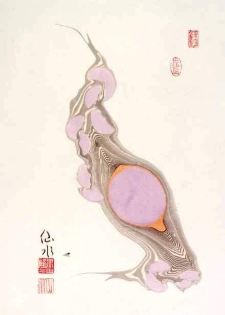 第3室 水紋画の世界,World of Suimonga