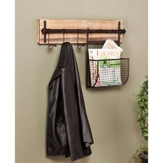 Shop For Harper Blvd Ashbury Entryway Wall Mount Coat Rack With Storage.  Get Free Shipping