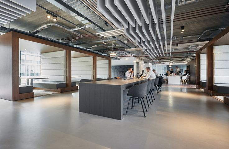 Open Space Office Design By Casper Schwarz C4id Acoustic