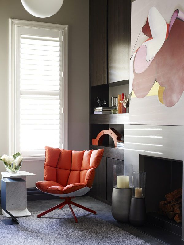 chair orange chairshome design