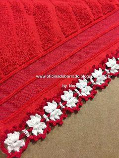 OFICINA DO BARRADO: Croche - NATAL ... Bons Motivos para Barrar ... Phototutorial