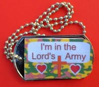Dog Tag Printable for The Whole Armor of God (Christian Soldier)     Bible Fun For Kids: