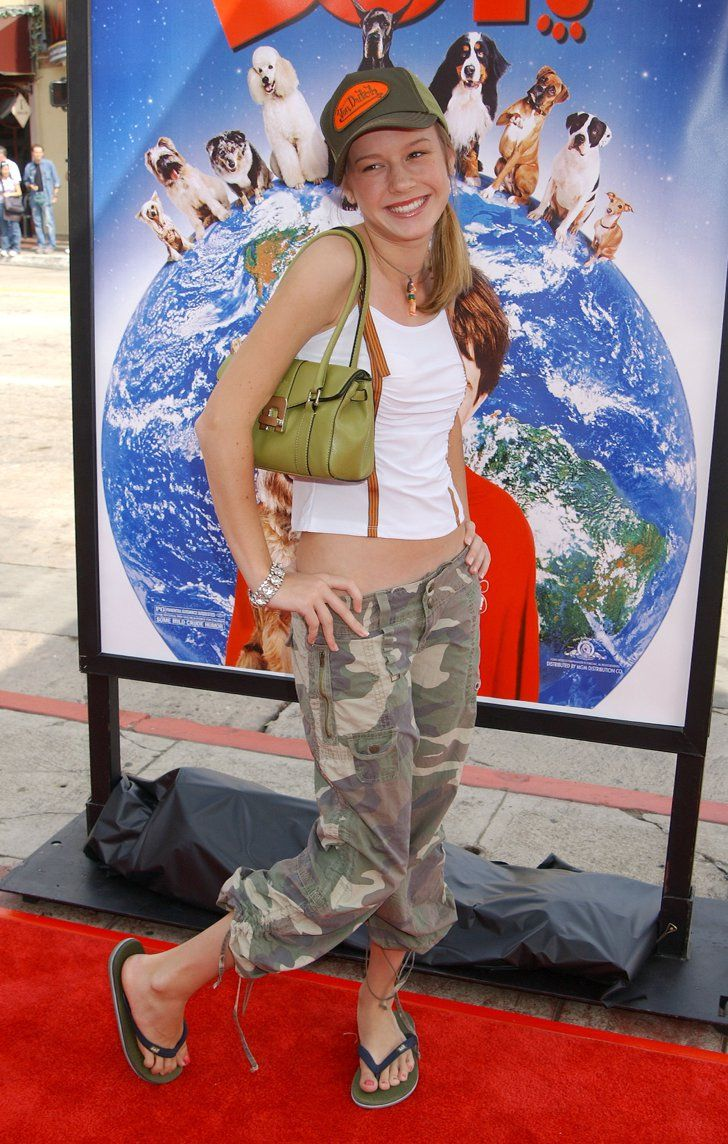 """Forget Regret —Why Brie Larson Is """"Grateful"""" For This Early 2000s Fashion Moment"""