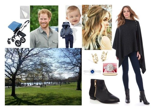Lauren, Harry and Nicolas went for stroll to the Hyde Park by royal-431 on Polyvore featuring polyvore fashion style Oasis Effy Jewelry De Beers Nordstrom Carter's clothing