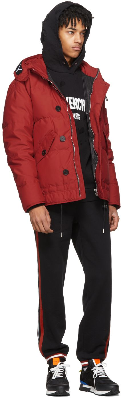 Givenchy - Red Puffer Down Jacket