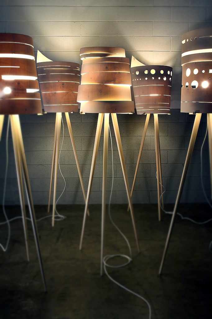 Various designs of the Silent Lamp...