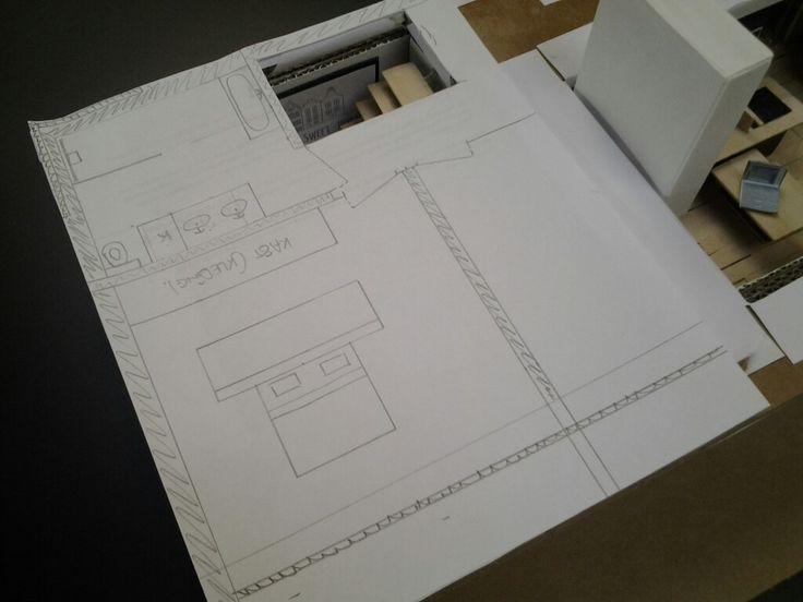 Bovenverdieping, plannen Miniatuur