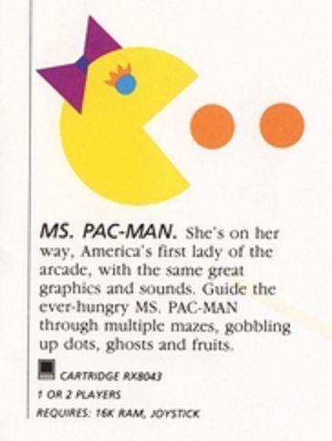 Ms. Pac-Man   Pac-Man