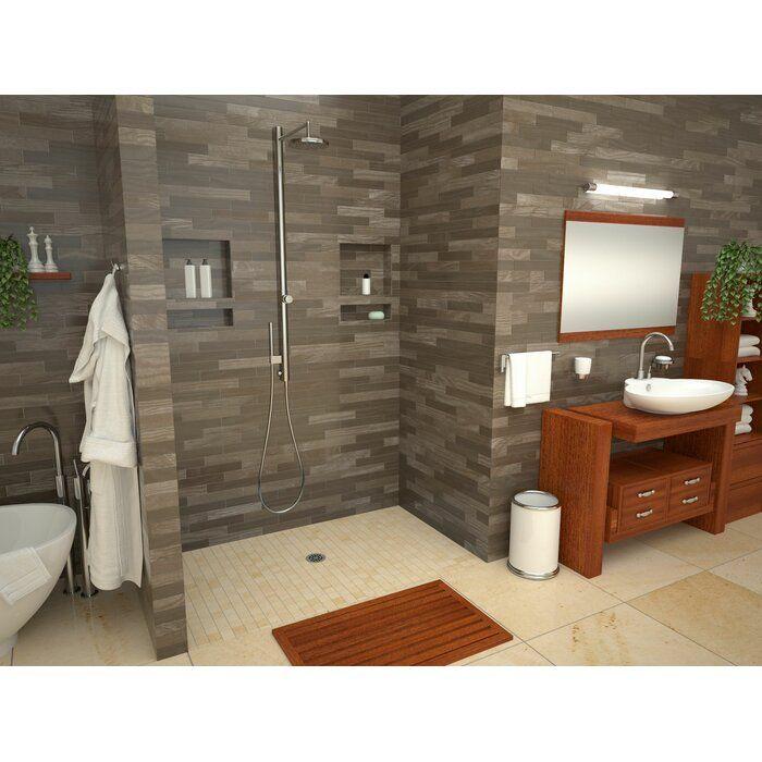 Barrier Free 72 X 33 Shower Base Simple Bathroom Bathtub