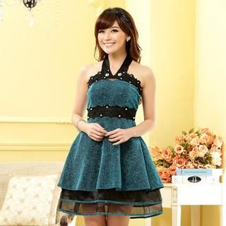 Buy 'JK2 – Halter Beaded A-Line Party Dress' with Free Shipping at YesStyle.com.au. Browse and shop for thousands of Asian fashion items from China and more!