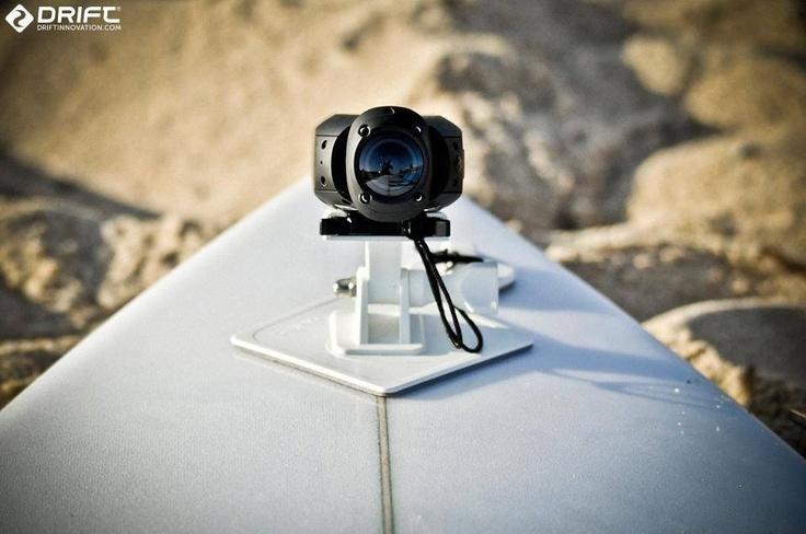 Drift HD Ghost lista para usar en el agua sin watercase en tu tabla de Surf.