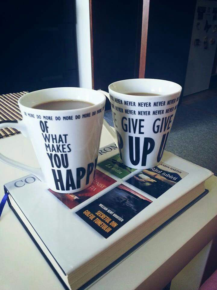 #coffee Do more of what makes you happy an' Never give up! ^.^