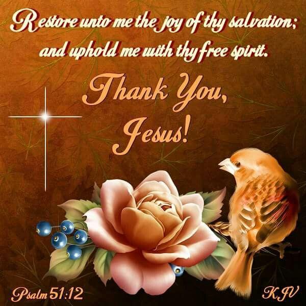 Psalm 51:12 KJV