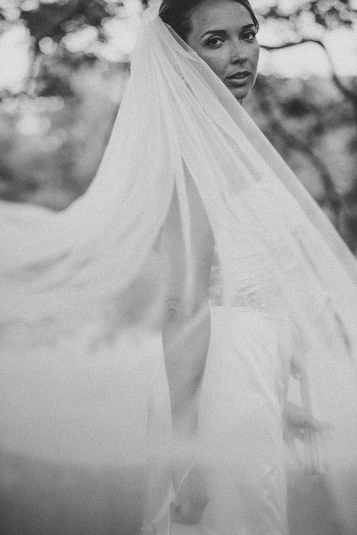 Beautiful veil photo - Codman Estate Wedding from HENRY + MAC