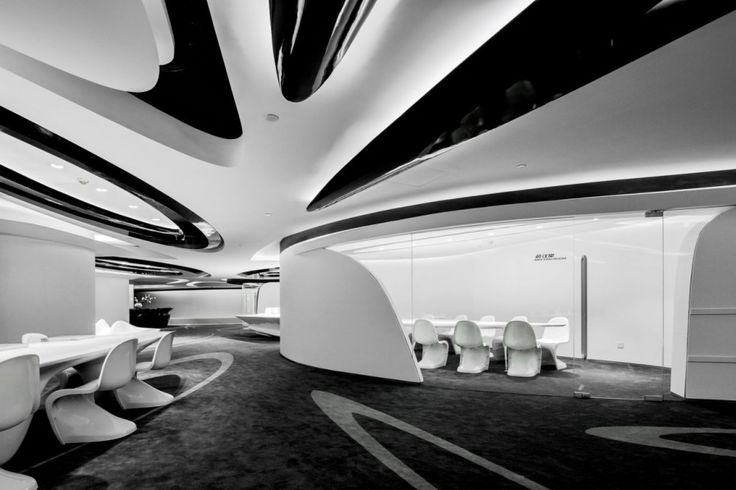 Gallery of sky soho leasing showroom gap architects 10 for Office design zaha hadid