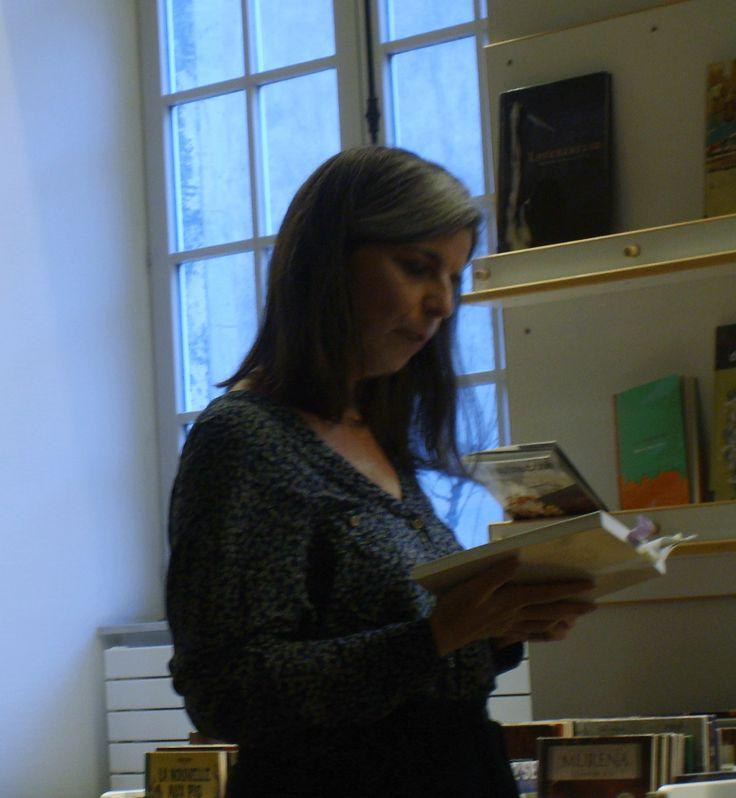 """Nathalie Démoulin lit un passage de """"La grande bleue"""""""