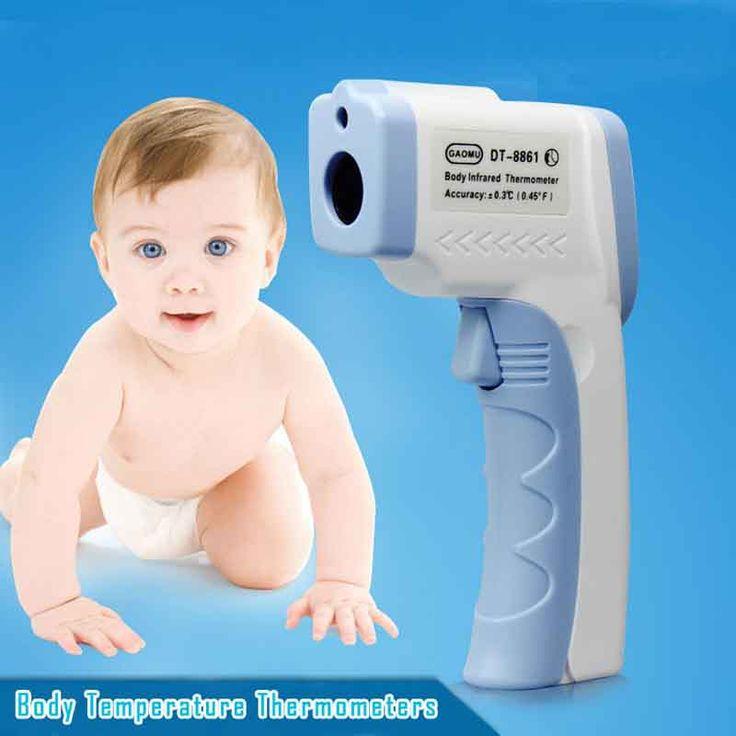 Baby Monitor Forehead Body Thermometer Gun Digital LCD Display Body Temperature Laser Gun Termometro Diagnostic-tool