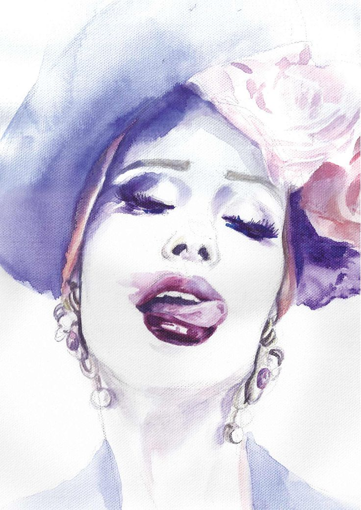 Iulia Albu | Watercolor Fashion Illustration | Sinestezic