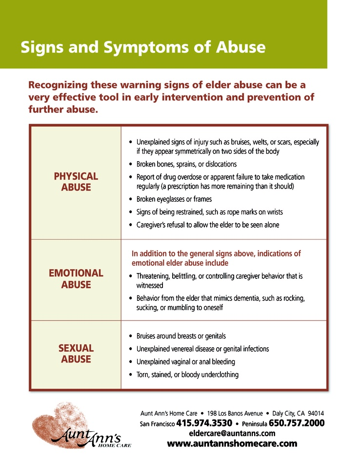 Simply Physical signs of emotional abuse in adults something is