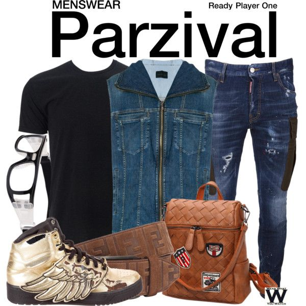 Inspired by Tye Sheridan as Parzival in 2018's Ready Player ...