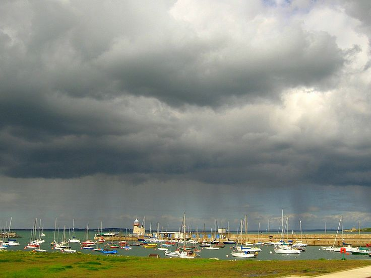 Storm over Howth Harbour - Howth IRL 2006