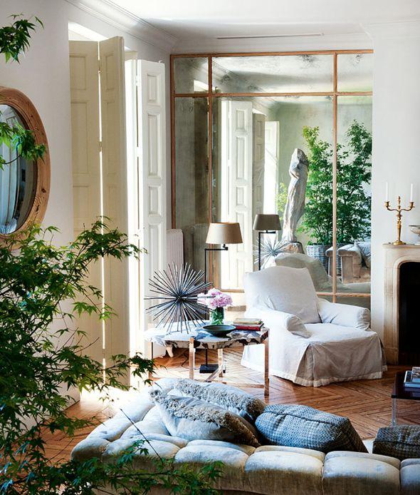 Un piso reformado clásico y actual