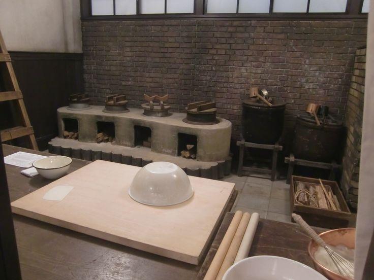 天皇の料理番の厨房シーン
