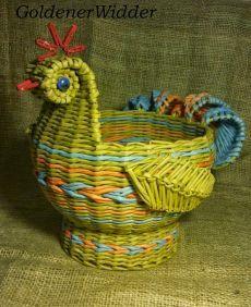 Плетение из газетных трубочек. Декоративный элемент «перо» | oblacco