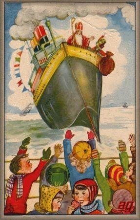 De stoomboot van Sinterklaas