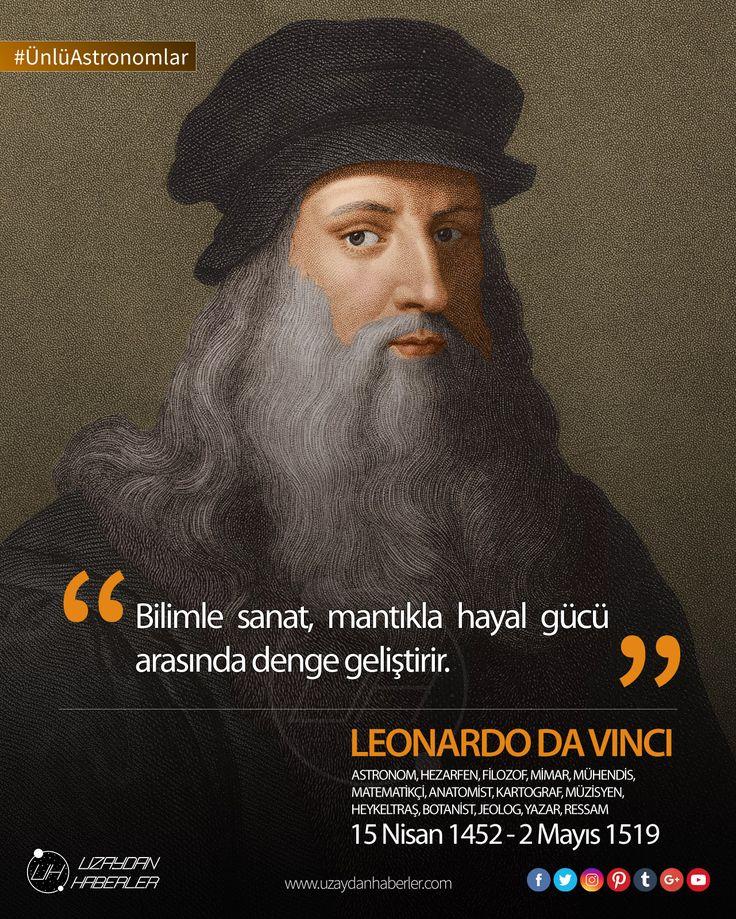 Yaşamış en büyük sanatçı ve dehalardan biri olarak görülen #LeonardoDaVinci 'nin bugün doğum günü.