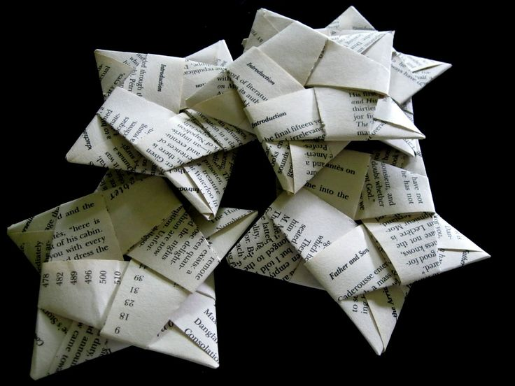 Don't tell Alexandre Dumas. I used the pages from my paperback edition of The Count of Monte Cristo for some things I wanted to make out of origami. (Read, reuse, recycle, right?)First, I tore out ...