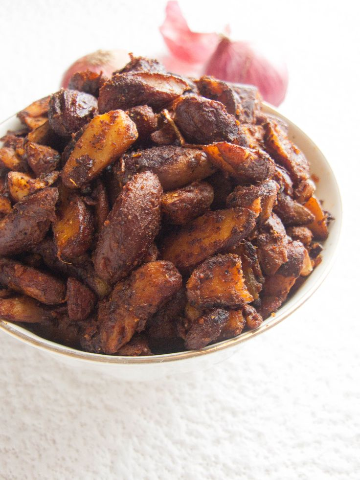 Jack Fruit Seeds Stir Fry Recipe is a healthy recipe made from the seeds of Jackfruits, which most of us would otherwise throw out as a waste. Recipe at: http://thetastesofindia.com/jackfruit-seeds-stir-fry-recipe/