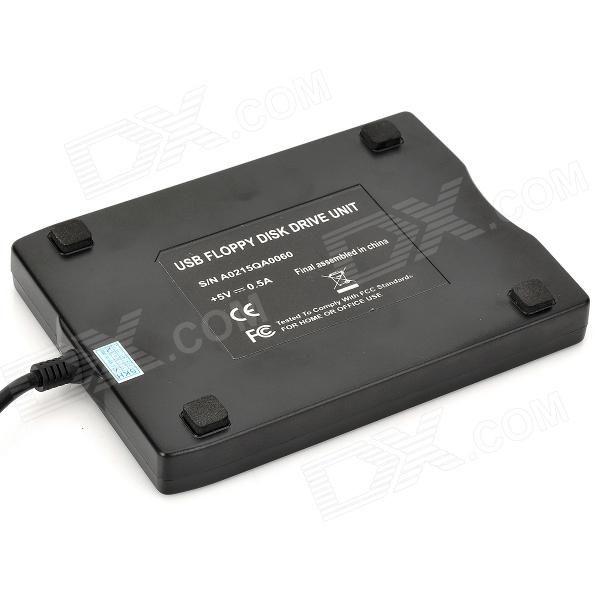 FDD-11 USB External FDD Floppy Drive - Black - Free Shipping - DealExtreme