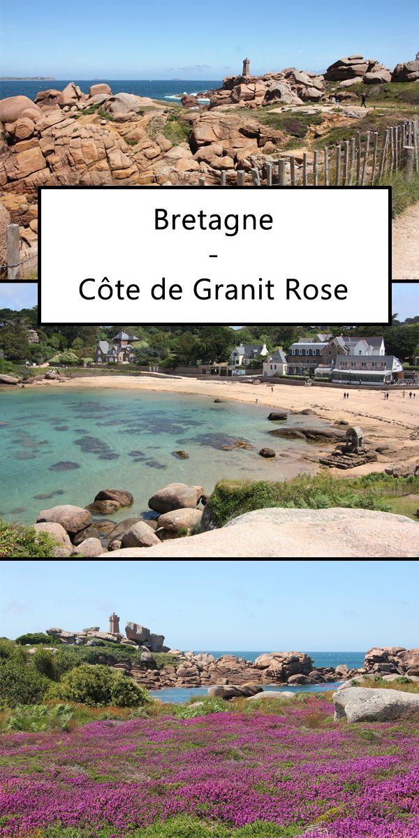 Die Côte de Granit Rose in der Bretagne ist ein wunderschönes Reiseziel. Hier …