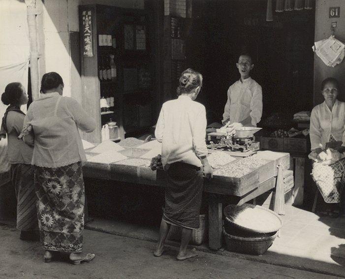 Winkel, Semarang, Java, Indonesië (1933)