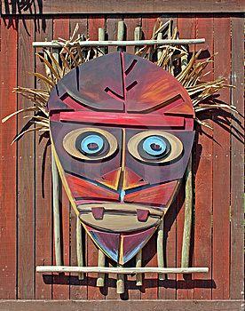 mascaras africanas coloridas