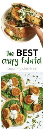 awesome Crispy Vegan Falafel