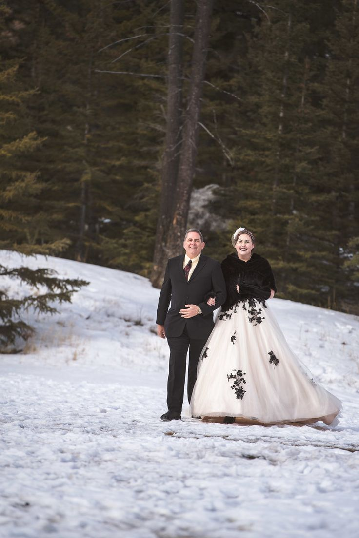 Banff winter wedding Shot by The 38 Photography