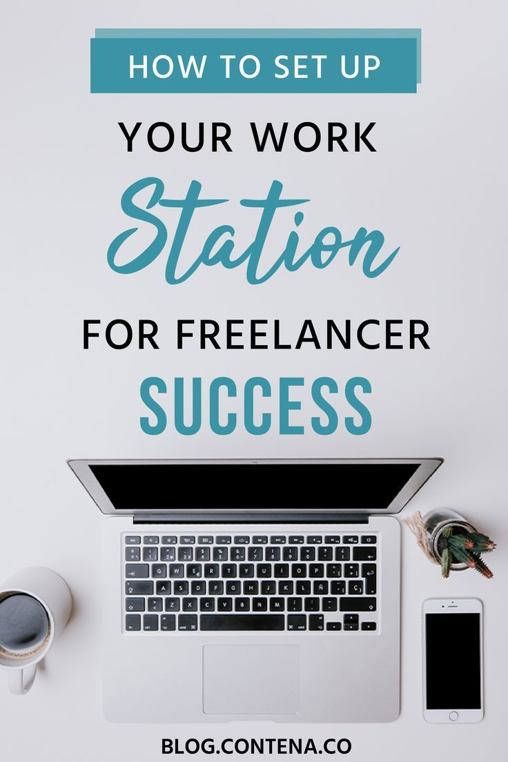 When You Work From Home Your Workstation Needs To Be Set Up Well Wah Writers And Parents Will Benefit F Freelance Writing Writing Jobs Freelance Writing Jobs