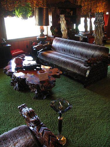Elvis Presley Graceland Memphis |  jungle room  Flickr - Photo Sharing!