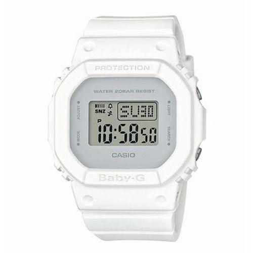 Weekend Deal Casio Baby-G BGD560CU-7 White Face Digital Ladies Watch