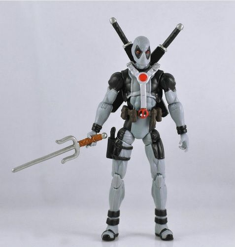 Deadpool Action Figure X Force Silver Suit 4 Inches //Price: $16.05 & FREE Shipping //     #marvellegends