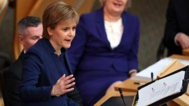 """Scottish Windfarm to re-open after summer recess -- Nicola Sturgeon is to give a massive boost to renewable energy later today by droning on about the """"way forward for Scotland"""" and as many IndyRefs as it will take to power the National Grid. Ms Sturgeon had called for an independence referendum to be held in the autumn of next year... --  -- http://rochdaleherald.co.uk/2017/06/27/scottish-windfarm-re-open-summer-recess/"""