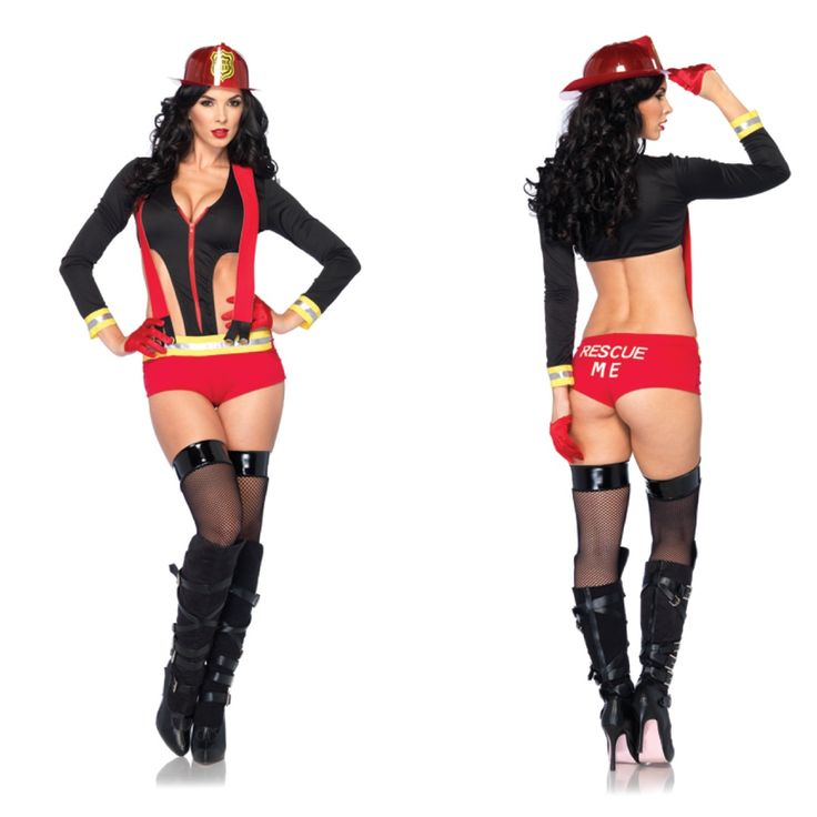 flirty firefighter costume style 53210 wwwlegavenuecom costume halloween women halloweencostume halloweenleg avenuefire - Fire Girl Halloween Costume