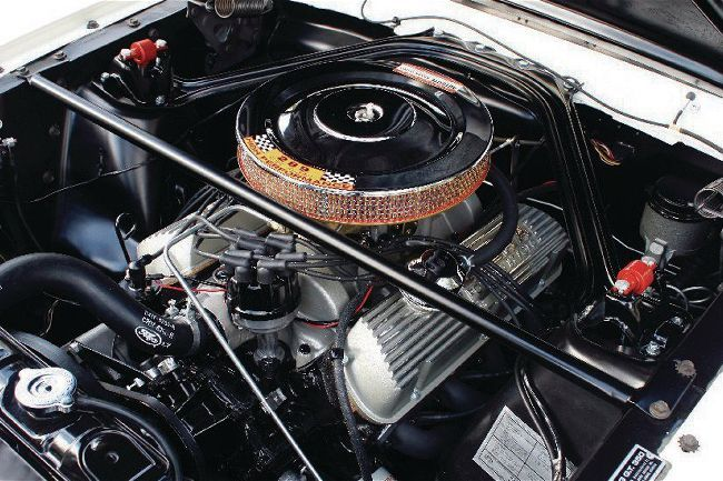 A look back at the Mustang's 289 High Performance engine option AKA THE FAMOUS K CODE Hi Po