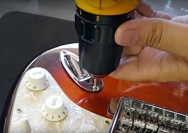 Upgrading that Mexican Strat.         Of course, not all Strats are equal, and some of us have probably thought about upgrading the parts on our non-U.S.-made Strats from time to time. Unfortunately, some players are understandably squeamish when it comes to tinkering with their guitars.