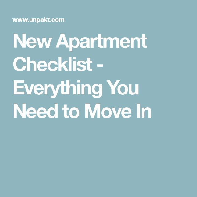 The 25+ best Apartment checklist ideas on Pinterest Apartment - new apartment checklist