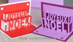 cartes de voeux kirigami a imprimer http://www.mespetitsbonheurs.com/carte-pop-up-kirigami-joyeux-noel-a-imprimer/
