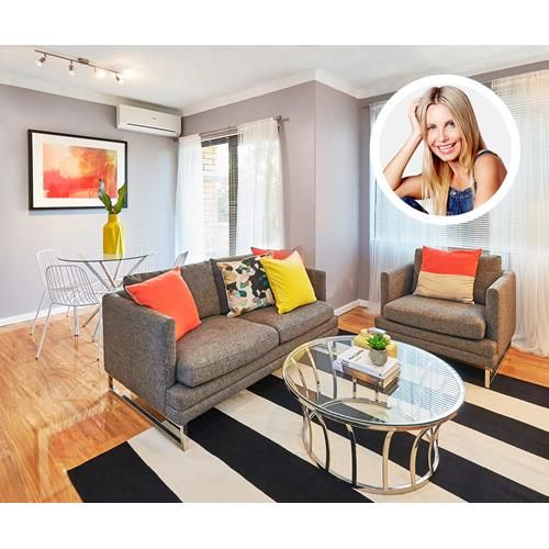 Expert renovator Cherie Barber gives a two-bedroom unit a complete modern makeover for under $5000. See the before and after pics!